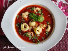 Smakołyki Asi: Zupa pomidorowa z tortellini
