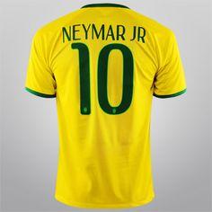 1bc34a1c03 Camisa Nike Seleção Brasil I 2014 nº 10 - Neymar Jr - no site netshow por