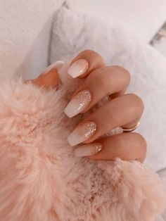 40 Latest Acrylic Nail Designs for Summer 2019 # Acrylic Nail … – Acrylnagel 43 Different Ways to Wear Nude Nails This Year Nude and Marble Nail Art Design Summer Acrylic Nails, Best Acrylic Nails, Summer Nails, White Acrylic Nails With Glitter, White Gel Nails, Classy Acrylic Nails, White Coffin Nails, White Acrylics, Pink Summer