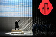 Fidelio. Scenic design by Jun Kaneko. 2008