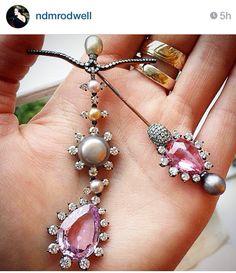 Jewels by JAR #jarparis #jar #joelarthurrosenthal #jewelsbyjar #jarjewelry #jarjewels #LucDanto via Sotheby's