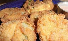 Fried Green Tomatoes with Dipping Sauce | THE BEST RECIPES