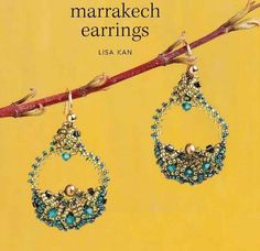 Beaded earrings Marakesh Tutorial