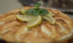 Τάρτα λεμονιού – Lemon pie Pastry Recipes, Cookie Desserts, Greek Recipes, Waffles, Deserts, Lemon, Pie, Sweets, Cookies
