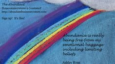 Abundance Quote, Ashley Ryan From the Abundant Businesswoman's Summit