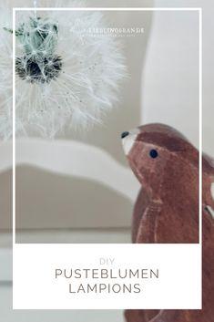 Pusteblumen haltbar machen, ein einfaches, fasznierendes DIY Cool Diy, Potpourri, Fish, Seasons, Pets, Spring, Table, Paper Lanterns, Summer