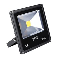 LE 20W Super Bright Outdoor LED Flood Lights 200W Halogen Bulb Equivalent Waterproof 1500lm Daylight White 6000K Security Lights Floodlight ** You can get additional details at the image link.