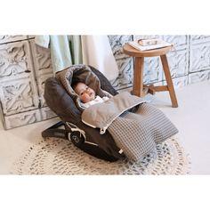 Waffel/Flannel Baby-Fußsack 'Antwerp'  85cm