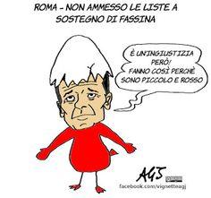 Liste di Fassina escuse alle elezioni di Roma