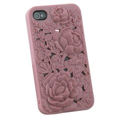 Amazon.com: DC New 3d Sculpture Rose Flower for Iphone 4 4s 4g Hard Plastic Cover Case Pink: Cell Phones & Accessories