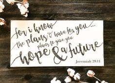 Jeremiah 29 11 wood sign bible verse wall art for i know the