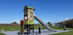 For over 30 years, Playco has been NZ's principal supplier of safe commercial playgrounds. NZ-made. Golden Gate Bridge, 30 Years, Childcare, Playground, New Zealand, Sustainability, Park, Amazon, Building
