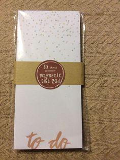 Target Dollar Spot Magnetic Confetti List Pad | eBay