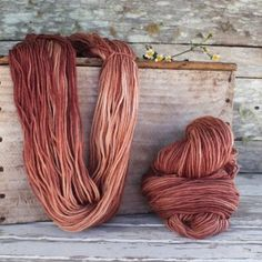 Harvest Wool - Plum by Timber and Twine