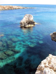 Clear waters of Cyprus coasts