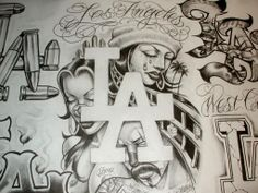 Lowrider Arte Magazine gangsters | Gangster Lowrider Cars http://ptax.dyndns.org/gangster-drawings/