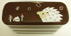 cuteest bento box EVER! hedgehog!