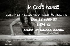 In God's hands even the most difficult situations turn out the most triumphant.
