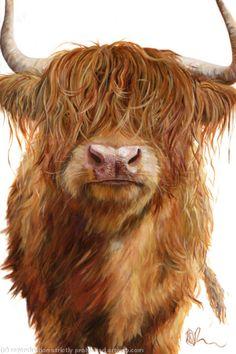 Haggis Highland by Wendy Darker £40