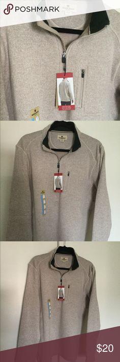 Men's 1/4 zip angler fleece. Large. Woolrich. Men's 1/4 zip angler fleece. Large. Woolrich. Taupe/Beige/Khaki color. 🤪 Woolrich Shirts