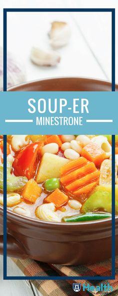 As the days grow shorter, nothing beats a steaming crock of savory, homemade soup. A terrific and easy way to improve your family's diet, soup can provide a filling, yet low-calorie meal that packs a lot of nutrients, protein, vitamins and more into one pot.