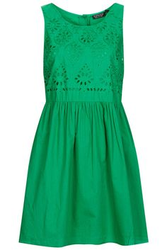 Topshop Broidery Chuck On Sundress UK10 #TopShop #Sundress
