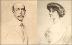 Georges de Grèce et de Danemark et son épouse Marie Bonaparte vers 1910