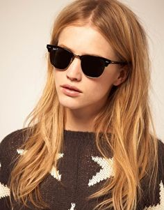 I like these Ray-Ban Clubmaster Sunglasses