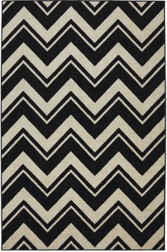 Black & white chevron is the new Zebra