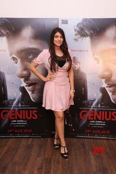 "Mumbai: Promotion of film ""Genius"" Ishita Chauhan - Social News XYZ Genius Movie, Girl Attitude, Disha Patani, Bollywood Actors, Indian Beauty, Indian Actresses, Mumbai, Promotion, Film"