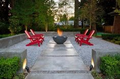 Top 40 Best Gravel Patio Ideas - Backyard Designs