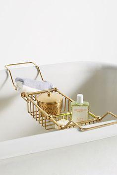 Anthropologie Maison Storage Bath Caddy