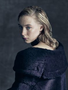 The New York Time's T Magazine christens Irish actress Saoirse Ronan as Hollywood's leading lady in waiting. The Hanna and The Lovely Bones star looks beautiful Paolo Roversi, Portrait Photography, Fashion Photography, Celebrity Photography, Portrait Poses, Glamour Photography, Portrait Ideas, Female Portrait, Vintage Photography