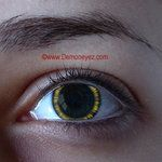 Halo Yellow Halloween Contact Lenses