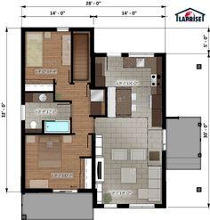 Laprise kit homes Designer, Zen & Contemporary   LAP0506   Maison Laprise - Prefabricated Homes