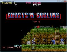 The classic Arcade/Commodore 64 game Ghosts & Goblins arrives. This one goes out for all retro-freaks out there who appreciate such hard, old and golden games! Z - Jump. X - Fire. Vintage Video Games, Classic Video Games, Retro Video Games, Vintage Games, Wii, Game Font, Mega Drive Games, Penny Arcade, Video Game Posters