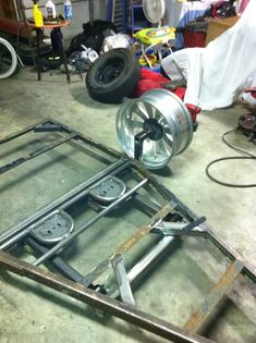 Bagged trailer for my mini chopper. - S-10 Forum