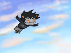 """""""Fly Free"""" Karkat flying free  Posted here now for the pepol™ of PUNTrest™"""