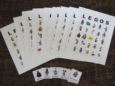 Lego Bingo Card!