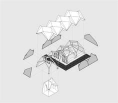 Axonometry / Erik Widell & Darri Baldursson