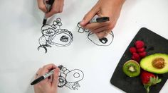 How to Draw With Your Non Dominant Hand: Weekly Project With Brooks Cham...