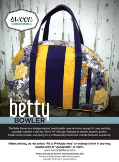 Swoon Betty Bowler PDF Sewing Pattern - trying to win this awesome pattern!