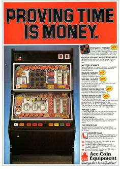STOP-WATCH by Ace Coin Time Is Money, Things That Bounce, Hold On, Coins, Fruit, Watch, Classic, Derby, Clock