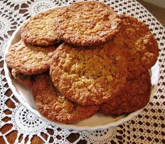 Chewy Anzac biscuits recipe here, adapted from Queensland's iconic Lady Flo Bjelke-Peterson's recipe • country women's association • please follow the link to the blog for the recipe! • riawati • country women's association