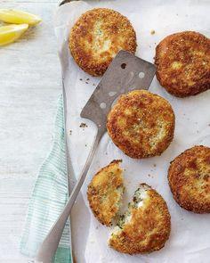 Cod and parsley fishcakes