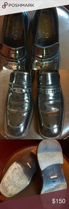 GUCCI GUCCI SHOES SIZE 11D IN GOOD CONDITION GUCCI Shoes Loafers & Slip-Ons