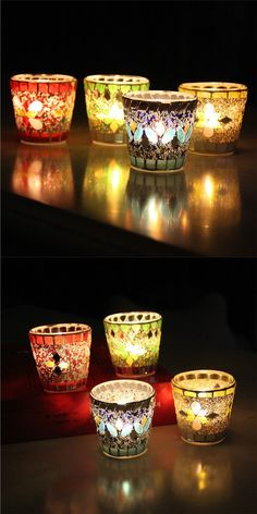 Beautiful objects for home: delicate decorative tealight candle holders