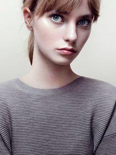 female, redhead, ginger, blue eyes