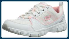 Skechers UninterruptedStolen, Damen Sneakers, Weiß (WSPK), 38 EU - Sneakers für frauen (*Partner-Link)