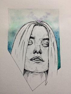 Arte Sketchbook, A Level Art, Wow Art, Aesthetic Drawing, Pretty Art, Art Inspo, Art Sketches, My Drawings, Line Art